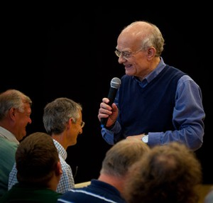 John Rutter with group