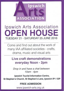 IAA Open House flyer