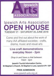 IAA Open House flyer
